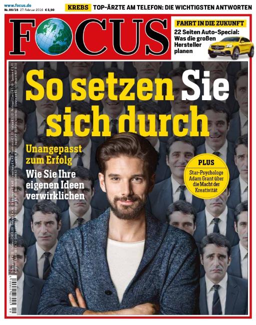 Titelbild Focus: So setzen Sie sich durch.