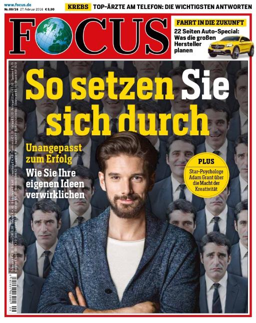 Titelbild Focus: So setzen Sie sich durch